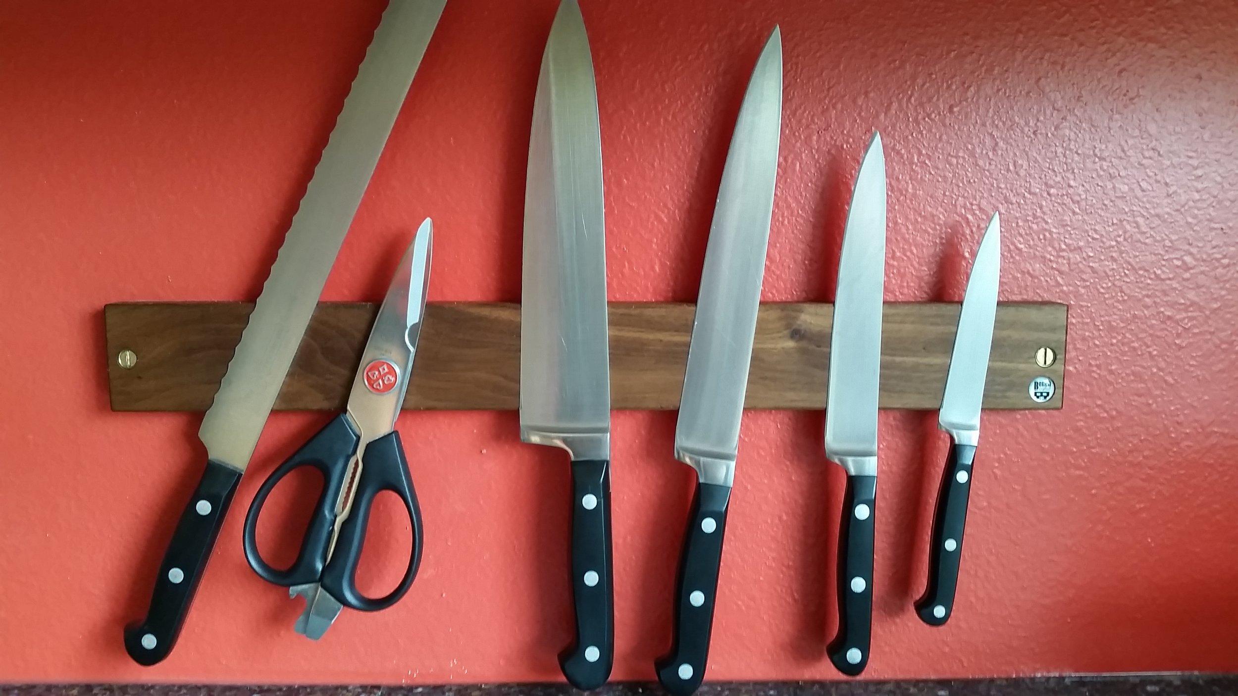 Sharp knives!