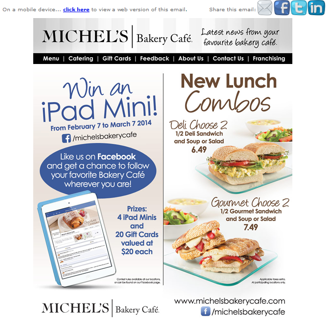 email - Webview - Only 2 chances left to win an iPad Mini from Michel's Bakery Cafe....clipular.png
