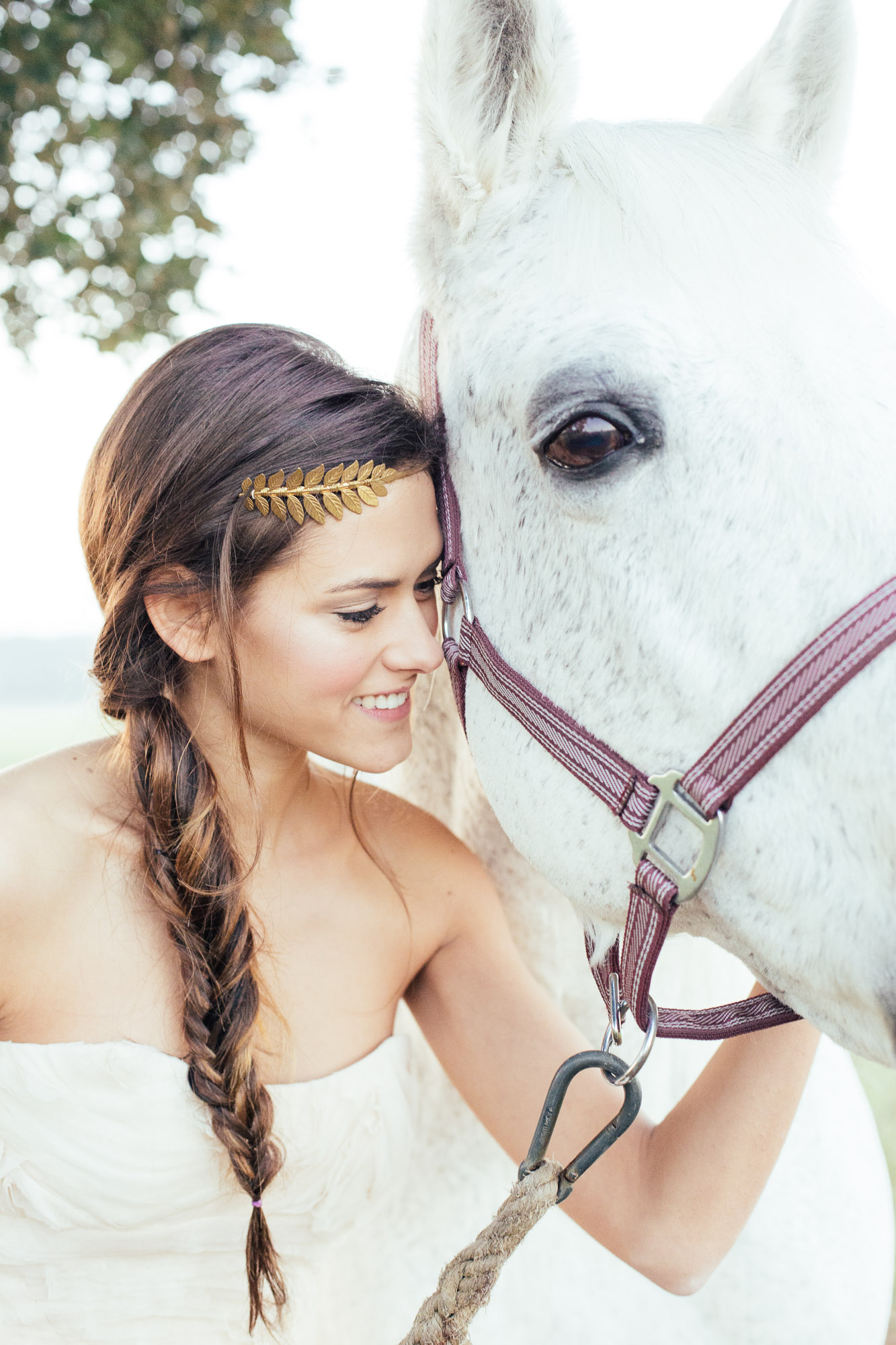 los-angeles-bride-with-white-horse-wedding-photos