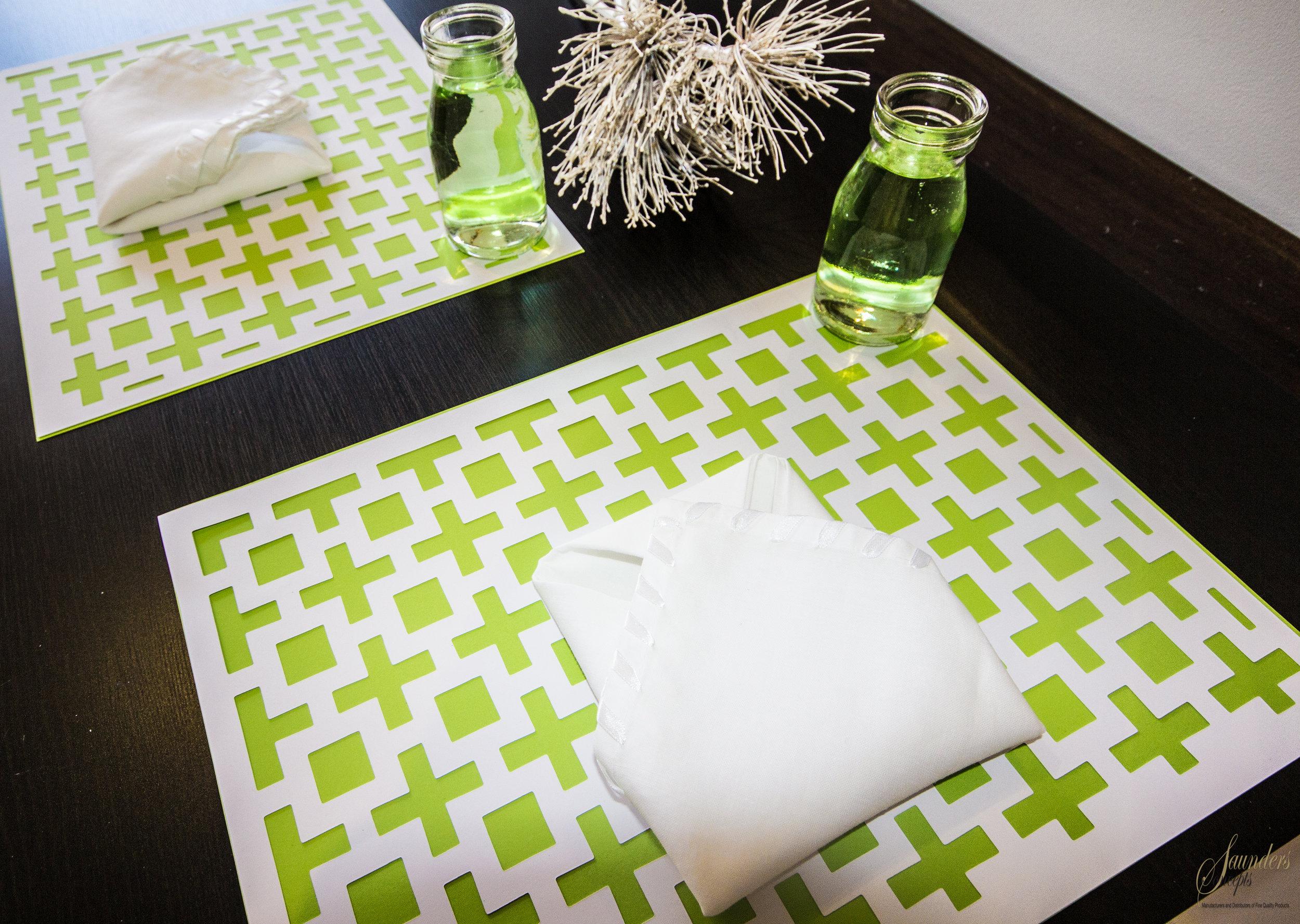 Amazing Squares Placemats