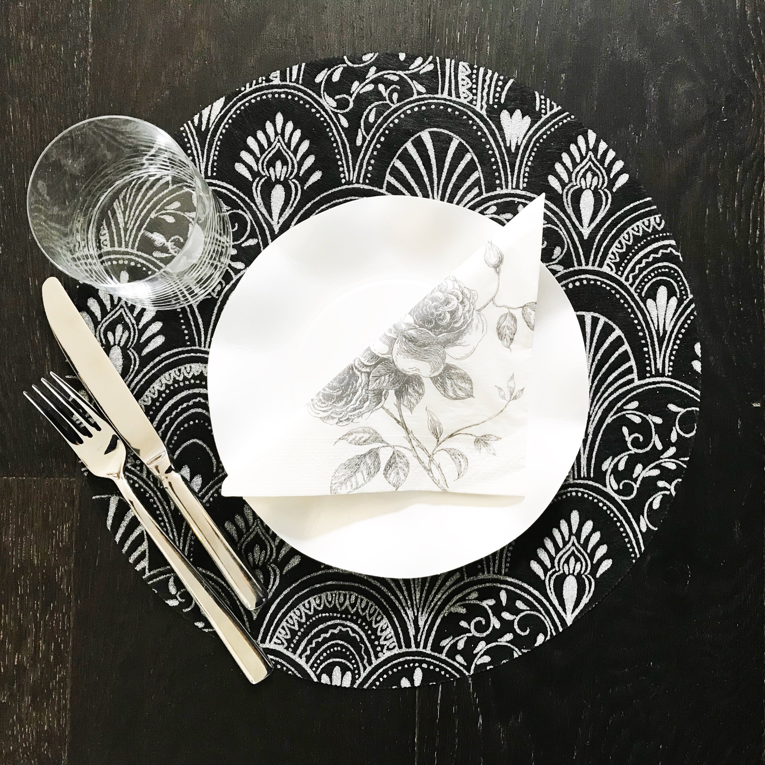 Milano Round Placemats