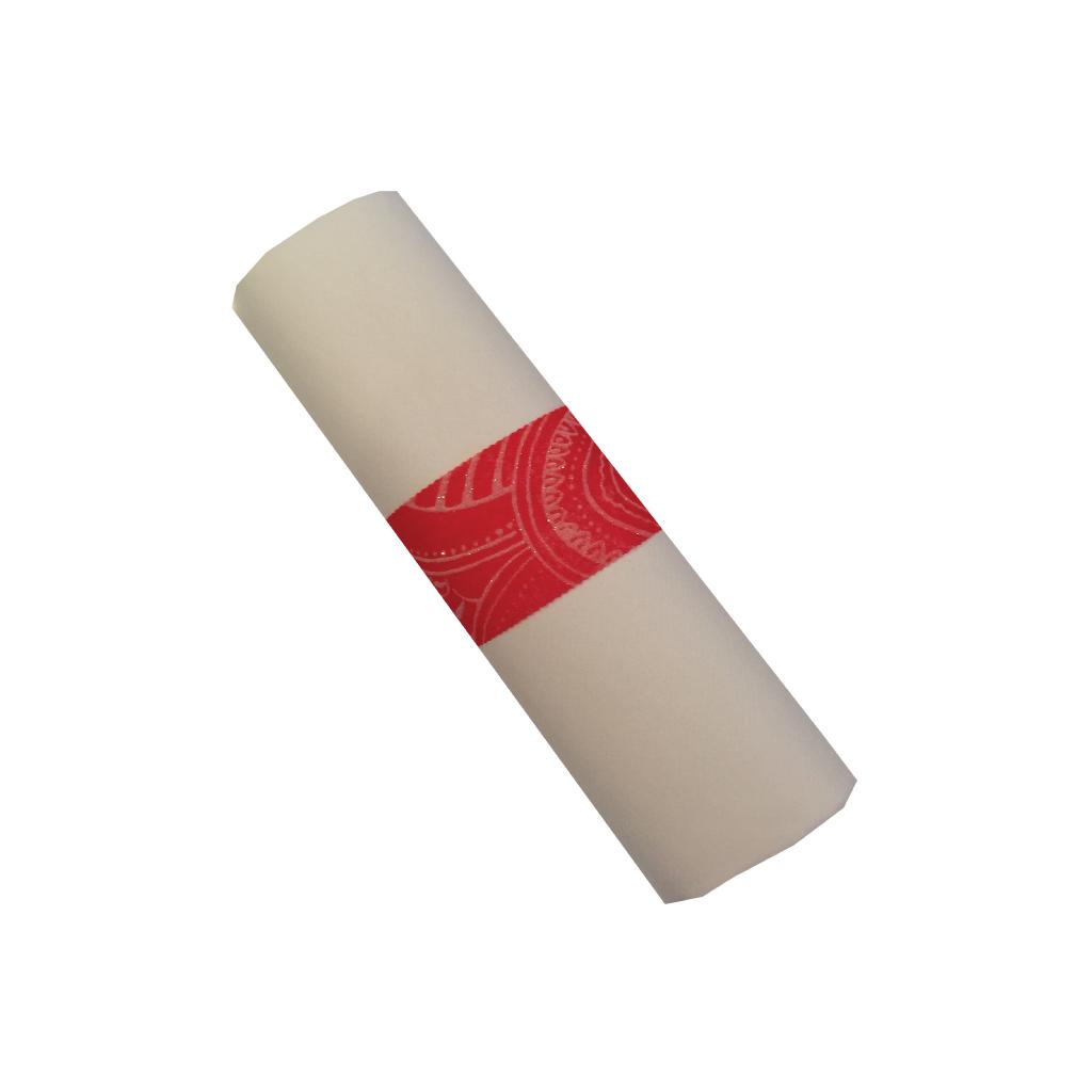 Red Milano Napkin Wraps