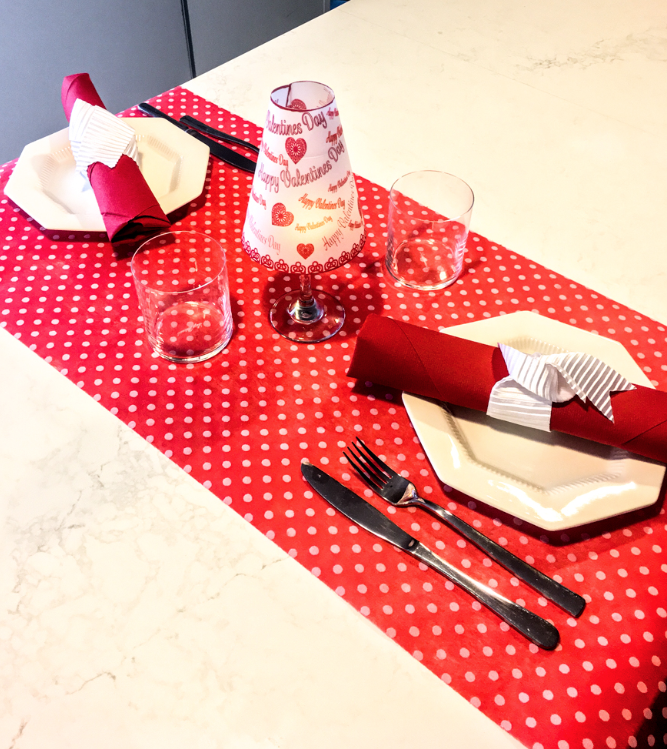 Copy of Red Polka Dot Table Runners