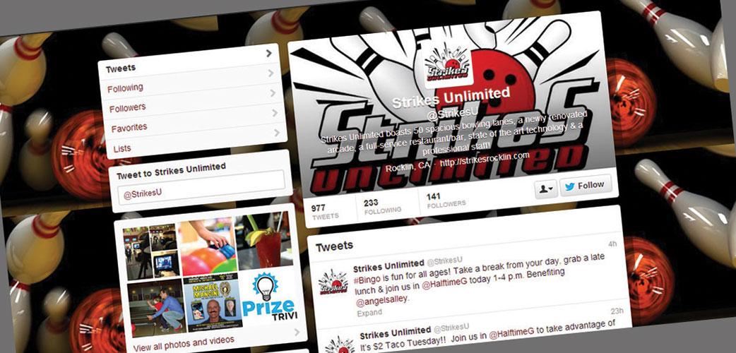 Strikes Twitter