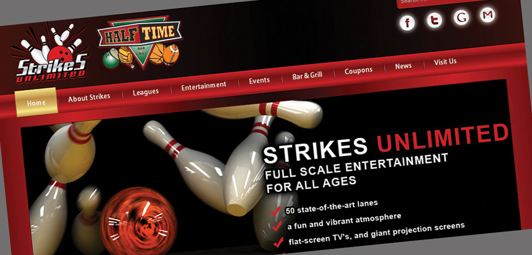 Strikes Website