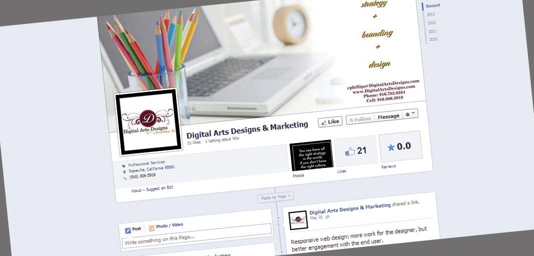 Digital Arts Facebook