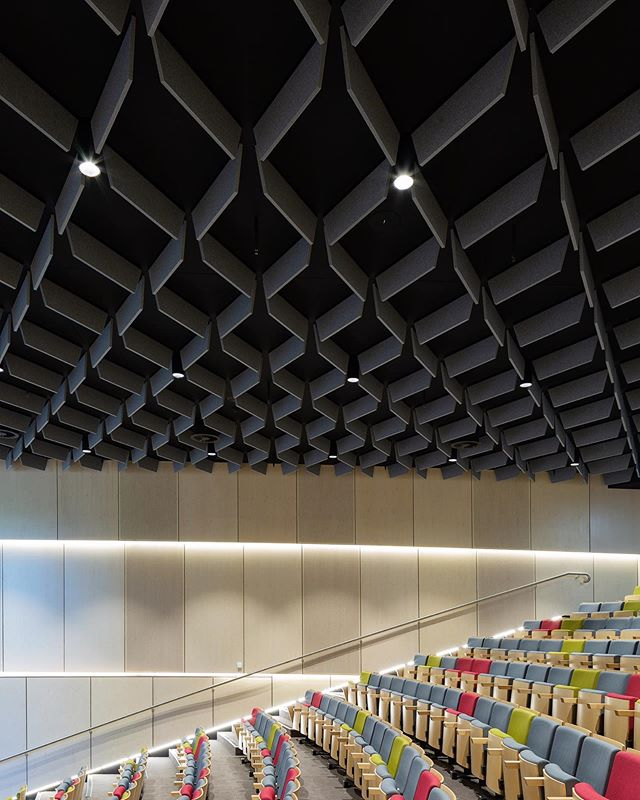 Interiors shot for @autexglobal the phenomenal ceiling panels were so amazing . Taronga Zoo Institute of Science & Learning @nbrsarchitecture