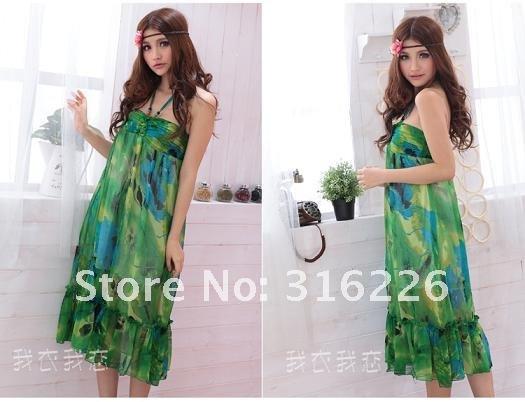 Free-Shipping-Flouncing-Bohemian-Style-Beach-Long-Dress-Chiffon-Dress.jpg