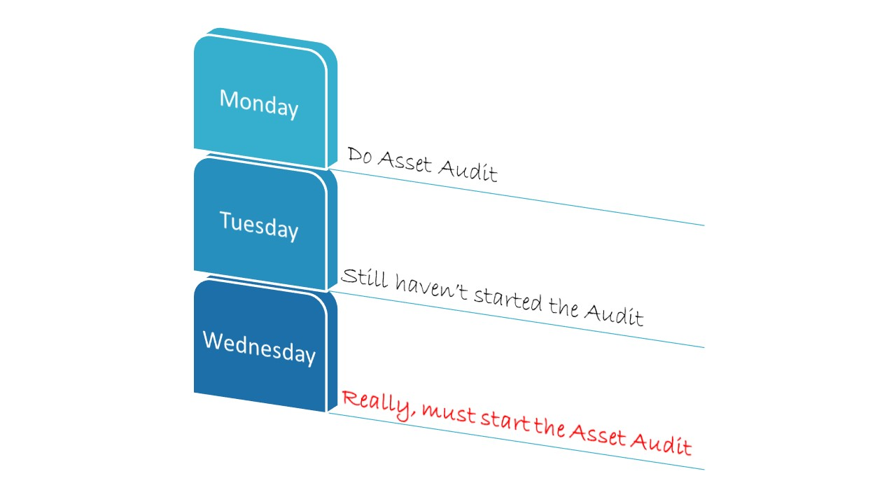 Do you need some help getting the asset audit done?
