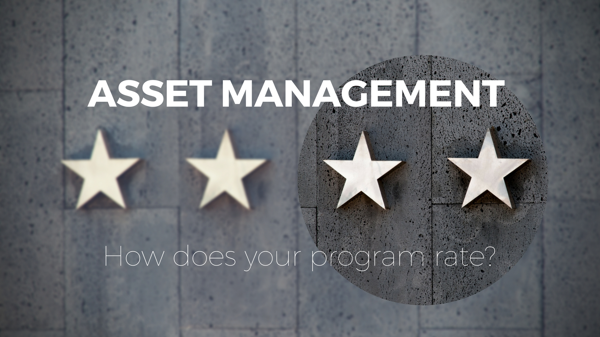 Asset management process review