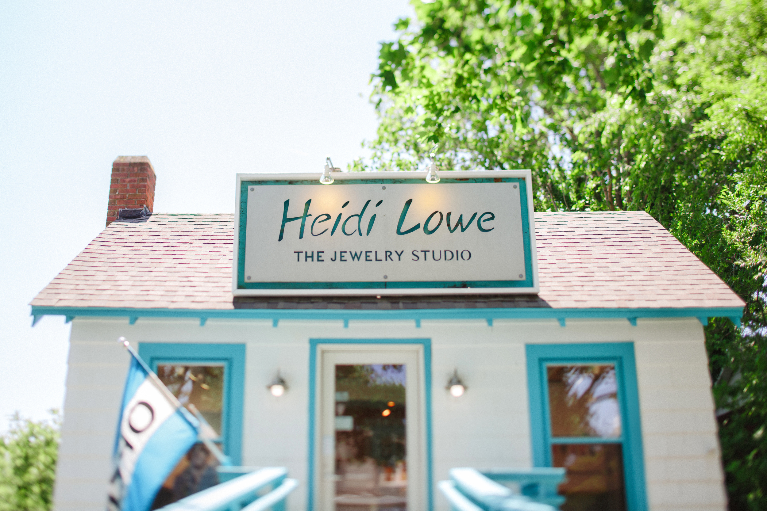 The Heidi Lowe Jewelry Studio in Rehoboth Beach, Delaware. Photos by Maria DeForrest