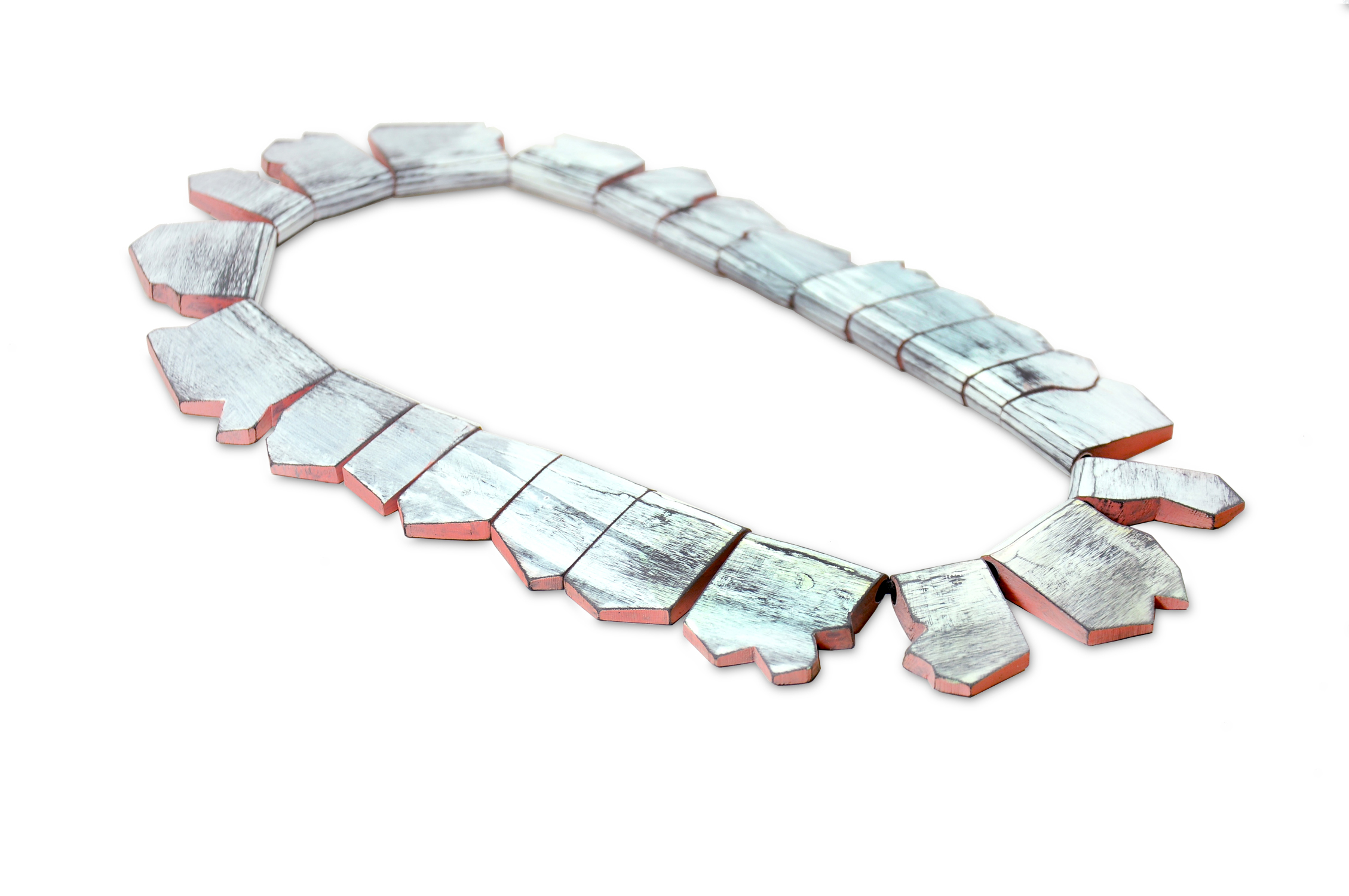 Tectonic Plates Necklace