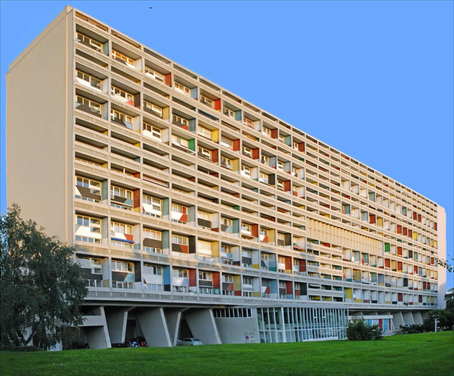 La Cité Radieuse, Le Corbusier