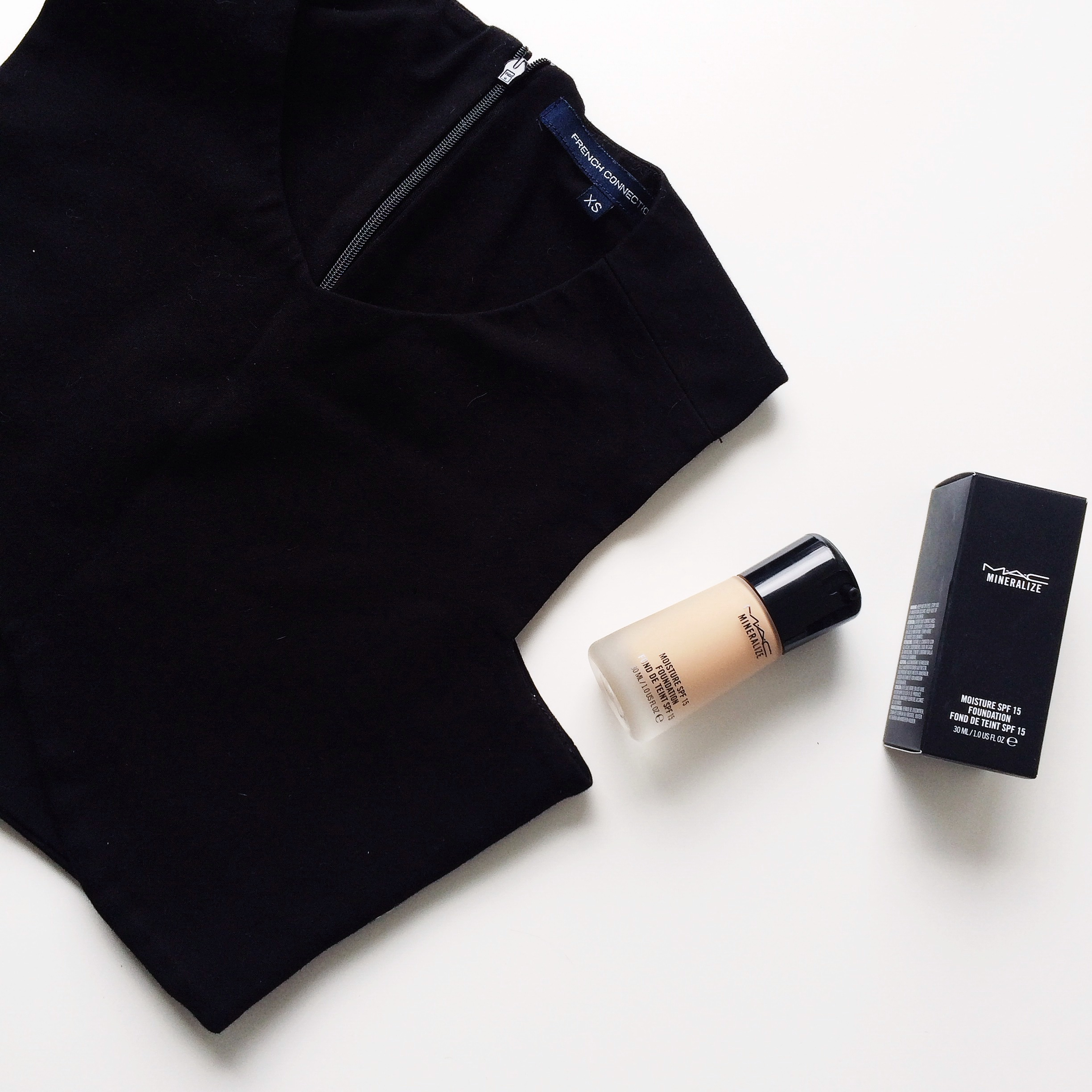 """My newfound love of """"Mineralize"""" foundation by Mac. A medium coverage, which is also moisturizing! Perfect for dry skin."""