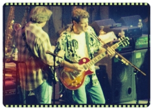 Glenn Frey and Don Felder at Tiger Jam 1998