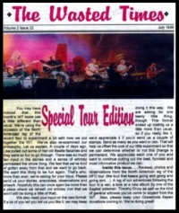 In this issue: 10 Days on the Road with the Eagles, Fan gathering, Timothy Drury, The art of Room Trash, Feeding the Eagles, Eagles Rock Tobacco Road,