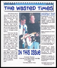 In this issue: My first Eagles concert, Eagles in England, Don talks to Virgin Radio, Eagles in Paris, Rotterdam, Rock and Roll Hall of Fame, Media Pollution,