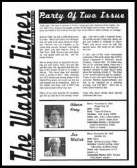 In this issue:  Glenn at golf tournament, Joe Walsh on tour, Fitness Glenn, Happy birthday Joe, Joe's Guitar, Joe the Thespian, Joe's Top 10 Solos,