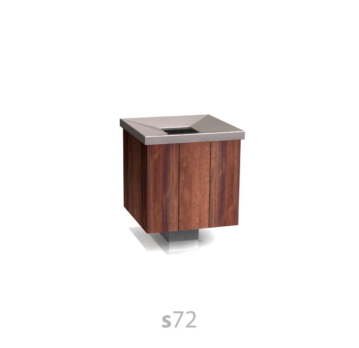 s72 litter bin