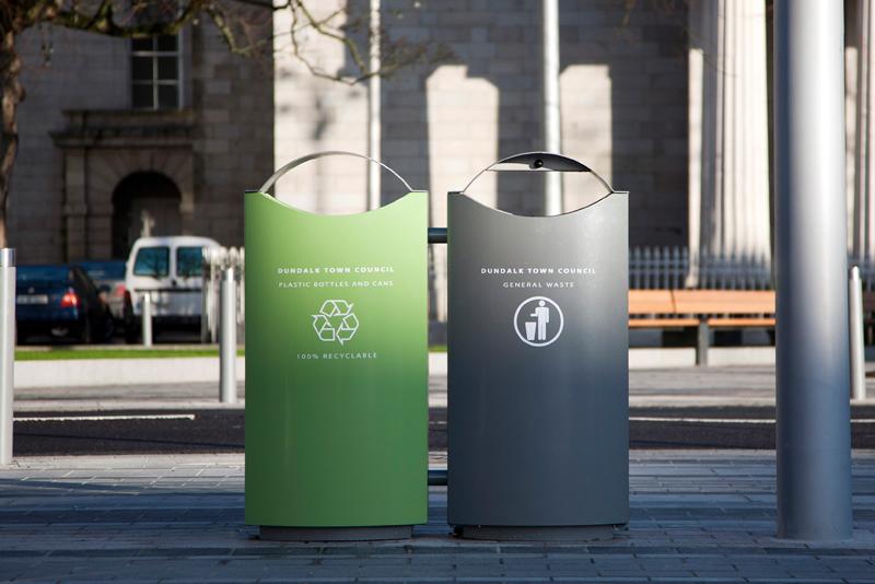 s16 dual recycling bin