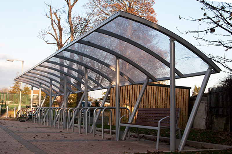 s04 cycle shelter, s59.2 seat
