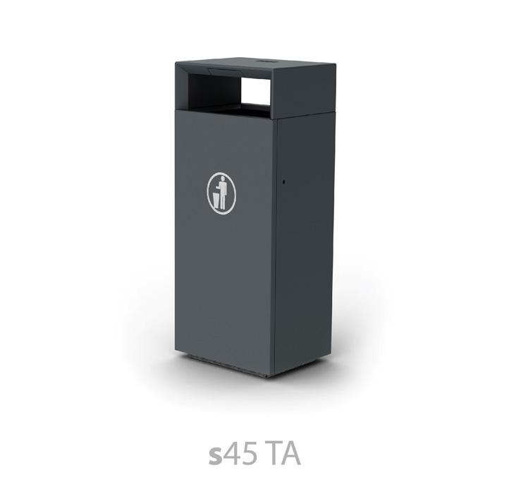 s45 TA litter bin