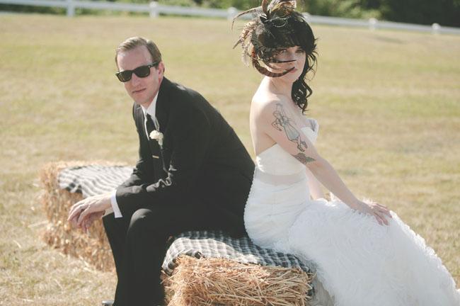 Half sleeves & fascinators - Letterpress Wedding Stationery. Featured in Seattle Met Bride & Groom Magazine, Green Wedding Shoes and Simply Seattle Weddings.