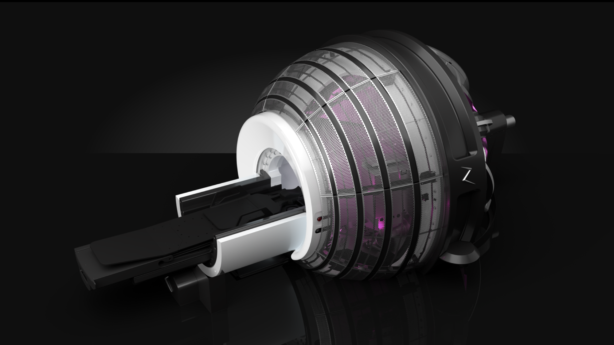 The client wanted a futuristic design to complement the