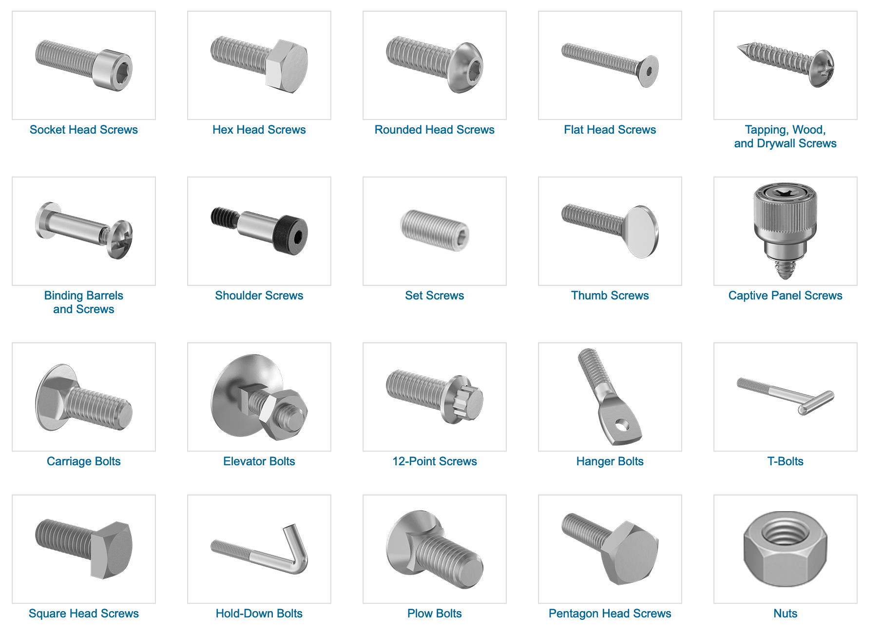 Image source:  https://www.mcmaster.com/fasteners