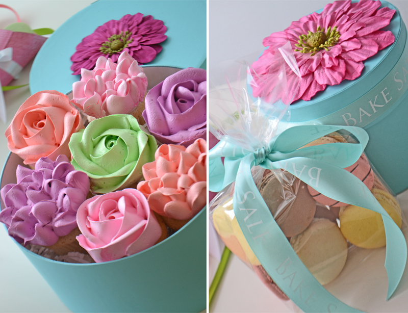 Bake Sale Mother's Day Macaron Gift Boxes Cupcake Gift Boxes Hat Rose Cupcakes Hydrangea Cupcakes Great Idea Facebook.jpg