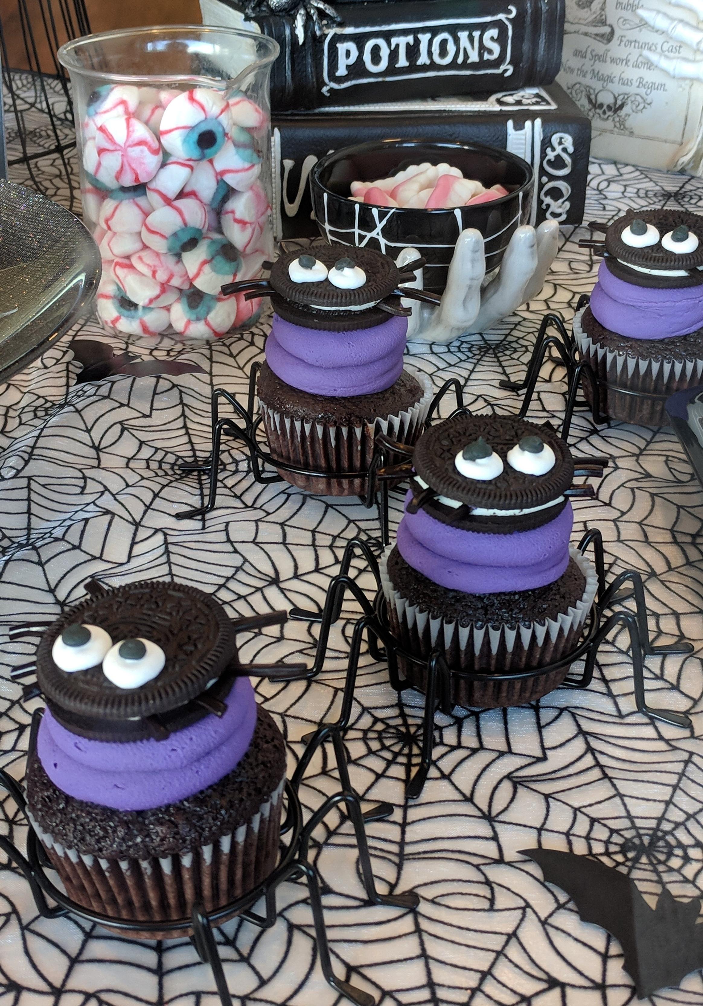 Spider Cupcake $4.25