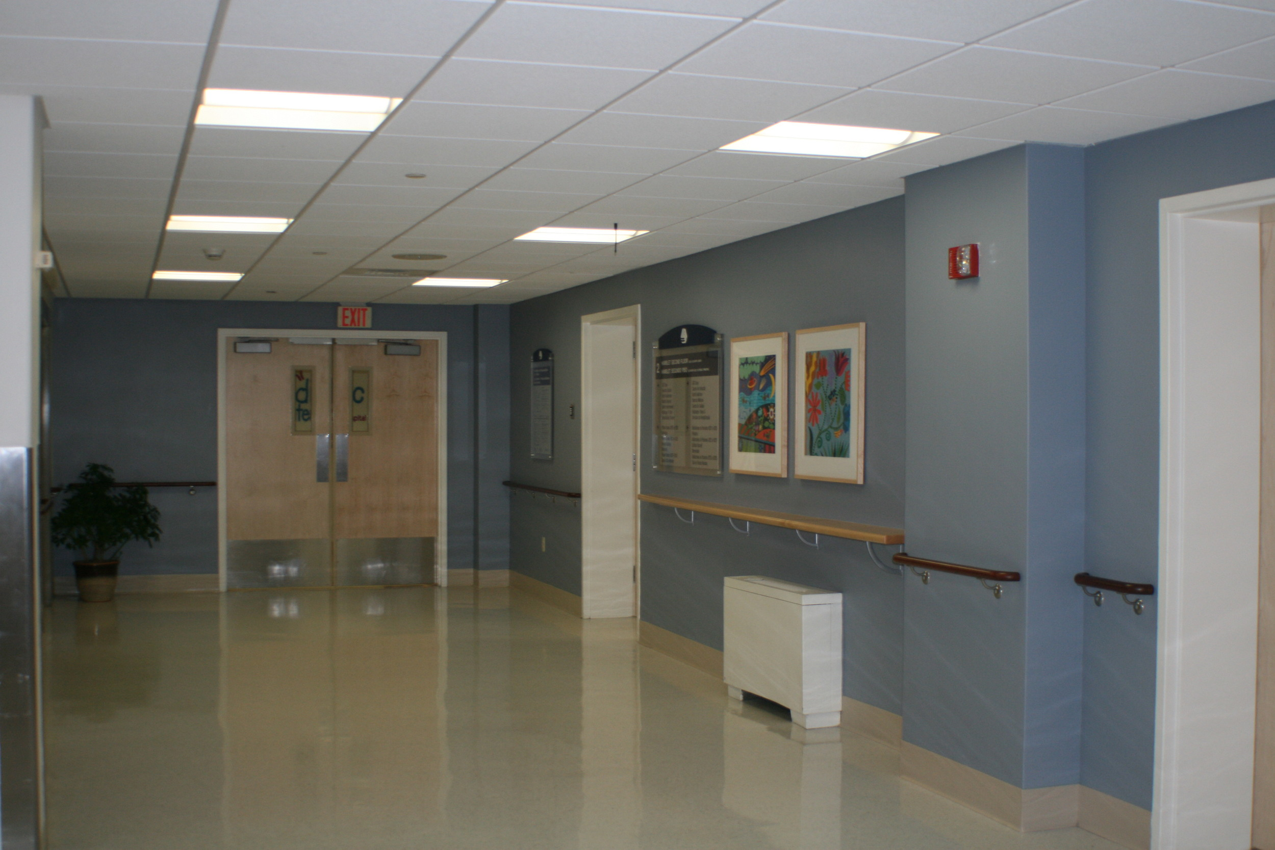 Hallway - Lawrence General Hospital
