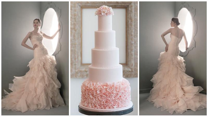 Dress:  St Pucchi 719 .  Cake