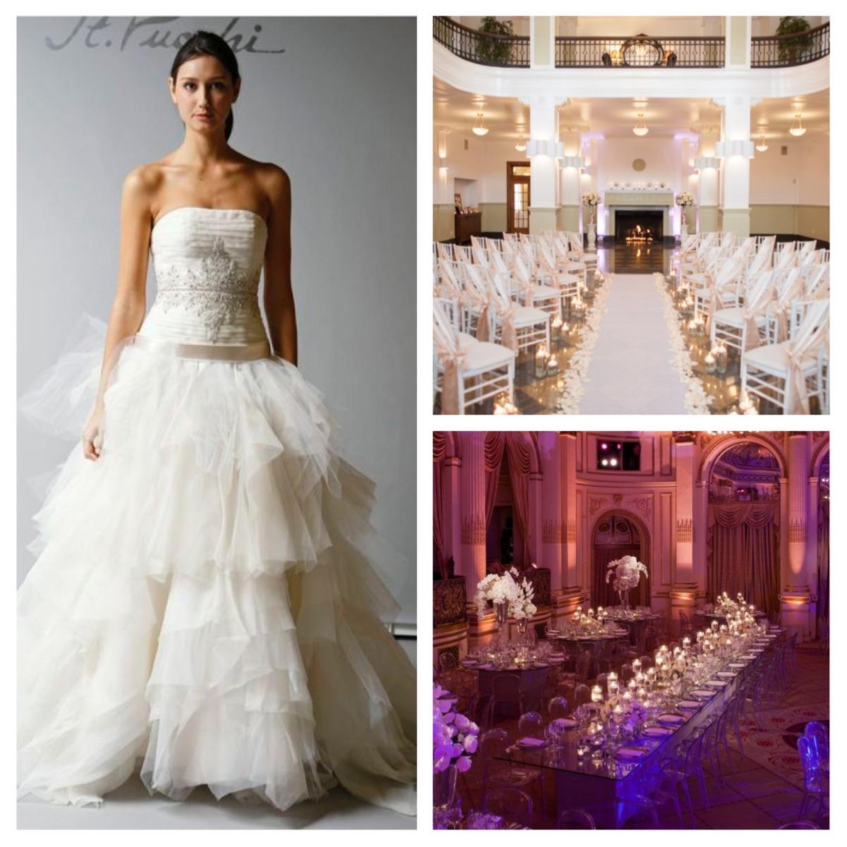 Images:  St. Pucchi Z361,  Elizabeth Ann Designs  (top),  Bridal Detective  (bottom)
