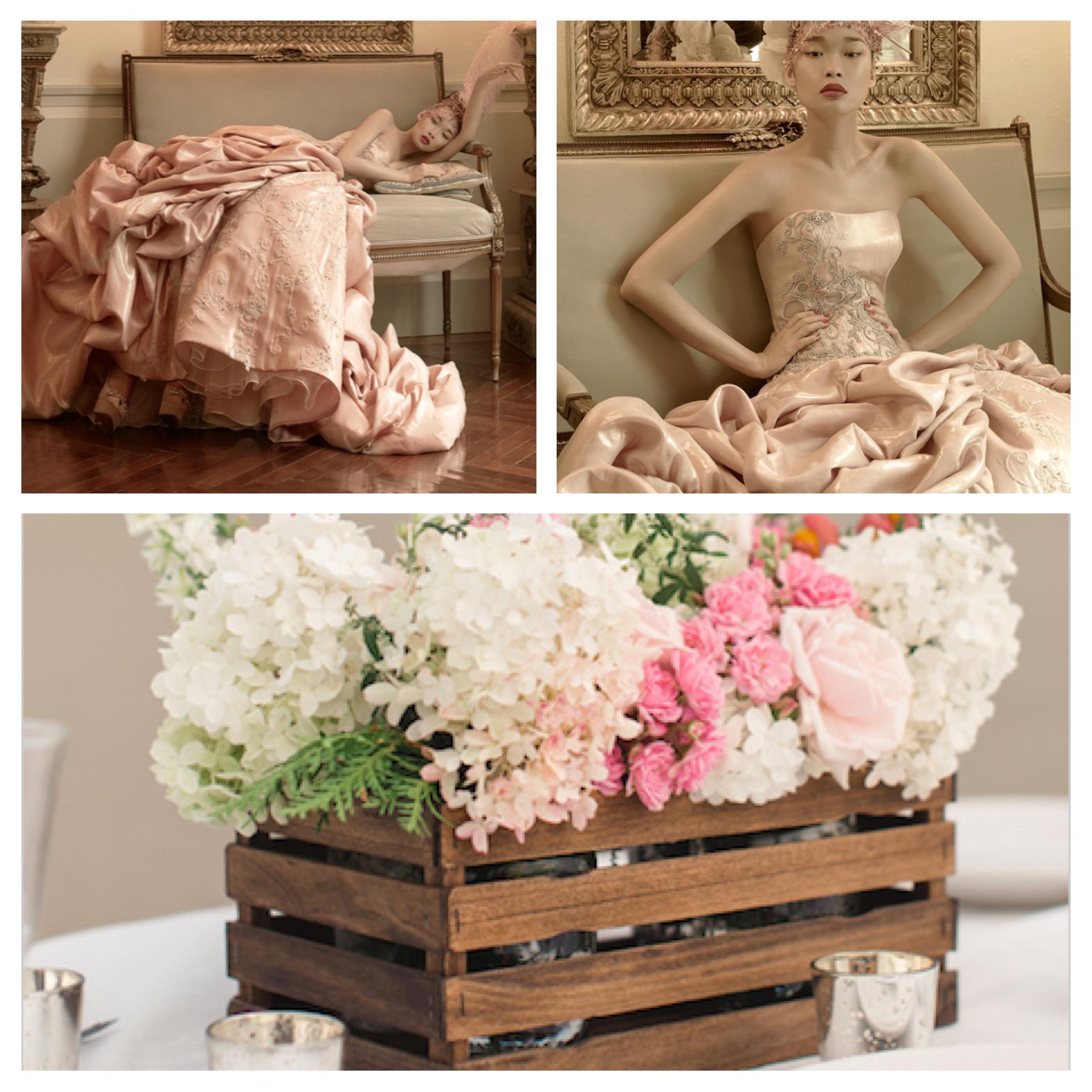 St. Pucchi 9458 , Floral Center Piece