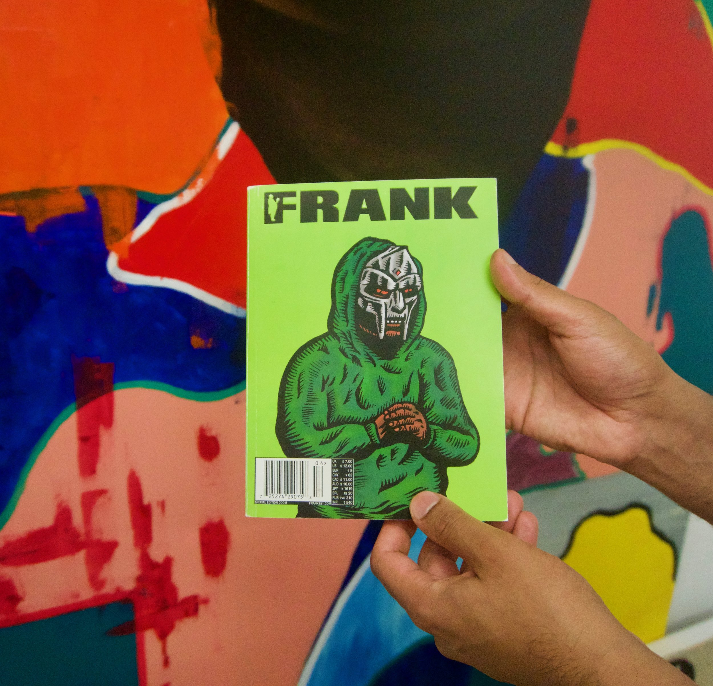 FRANK 151 X DOOM BOOK