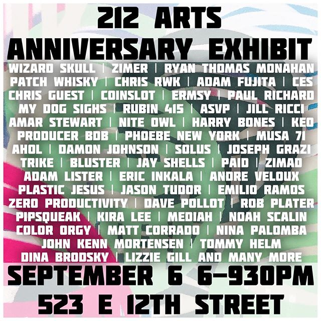 "This Friday at @212arts I'll be showing a piece alongside these great artists. I won't be attending but if you're in NYC be sure to swing by. I have a piece titled ""Patricia"", a character who stars in the Spike Lee movie @blackkklansman 🖼 . . . . . #nycart #exhibition #artists #artcollector #nyc #eastvillage #painting #streetart #fineart"