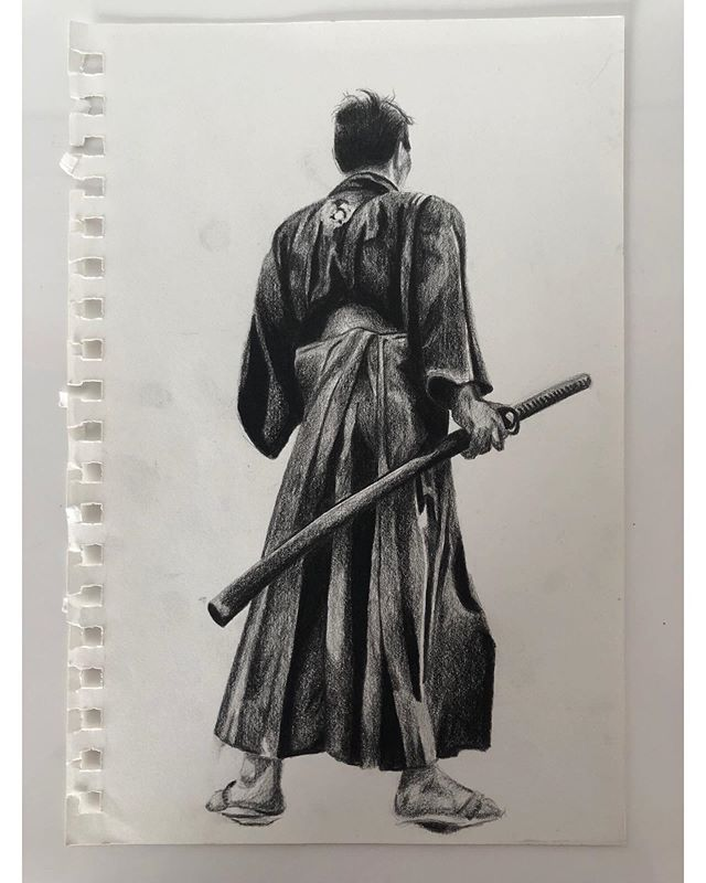 I'm selling these sketches which I did between Jan '18 and Jan '19. Swipe 👈🏾 to see the collection. DM me if you would like to know more information on how to add to your collection 🗡 . . . . . #amarstewart #samurai #drawing #sketch #sketchbook #art #artist #artcollector