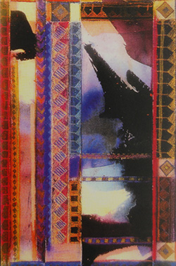 Ethnic Collage, 1991. Best in Show Award, Brunnier Gallery and Museum, Iowa
