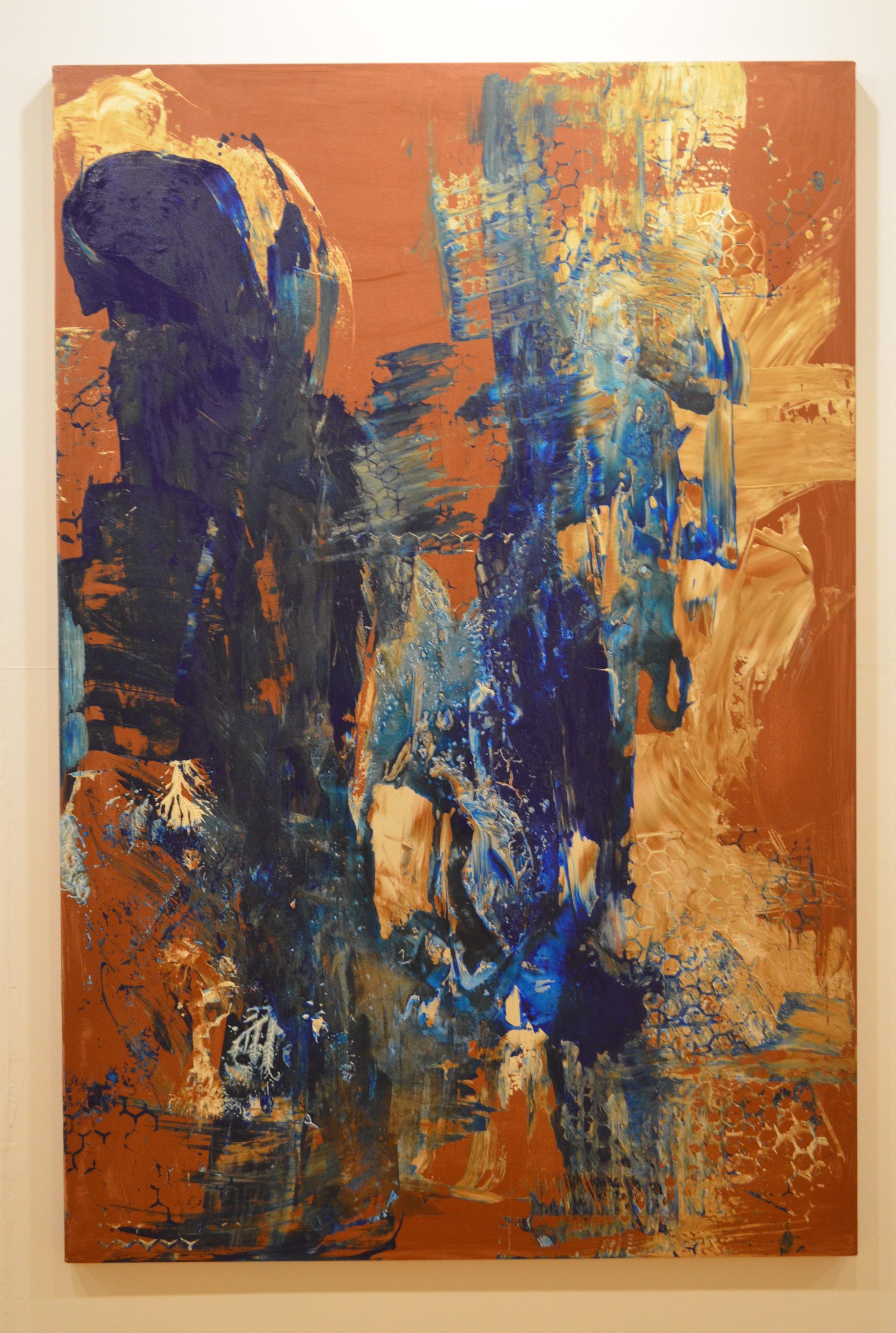 7. Washed Ashore, Natasha Shoro, 72 x 48 inches, $6,500