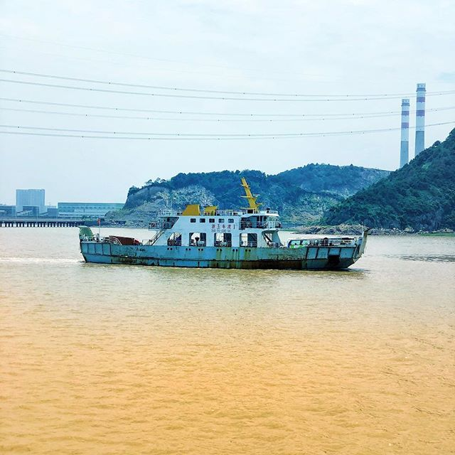 China car ferry  #rustbucket #enya #boat #titanic #chocolatemilk #china #travel
