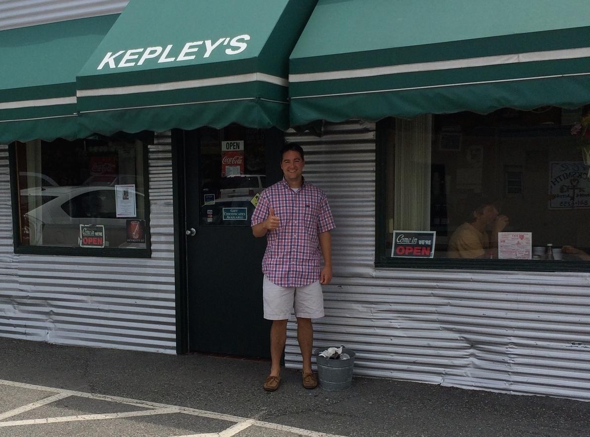 Bobby Cool at Kepley's BBQ