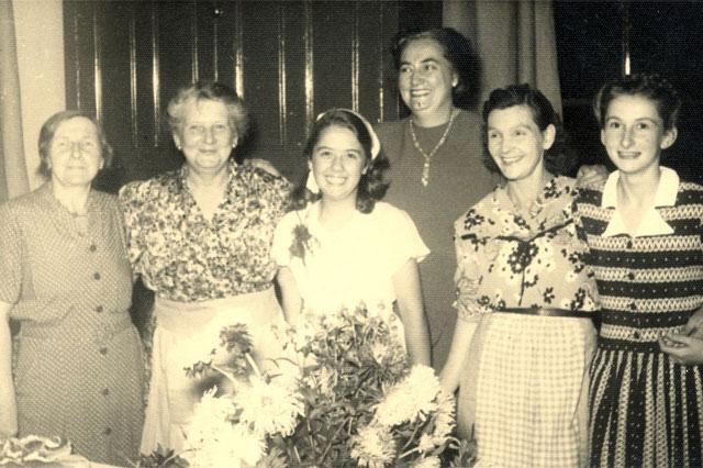 1949/50 Ladies Management Committee