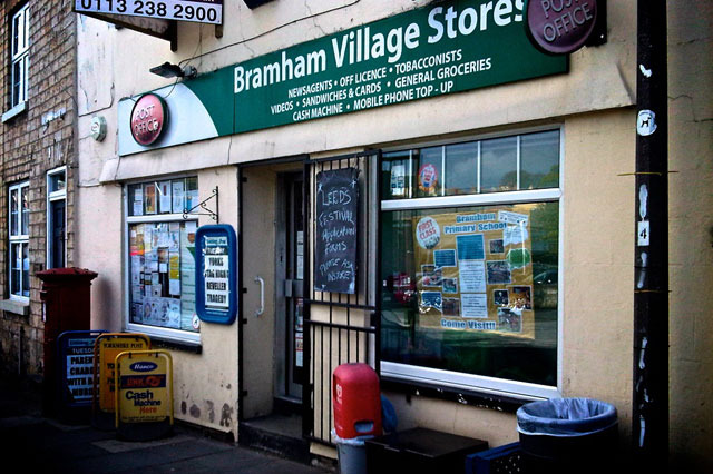 Image: Bramham Shop by Alison Mackie