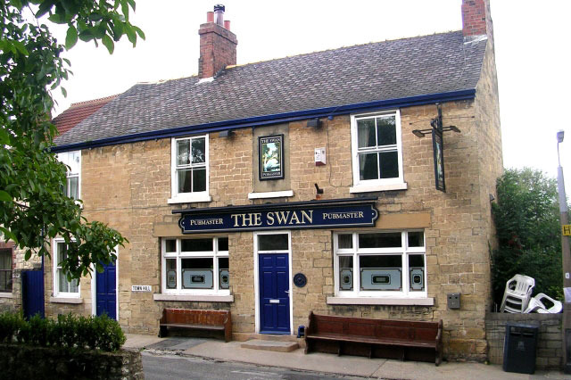 Image: The Swan Pub by  Betty Longbottom