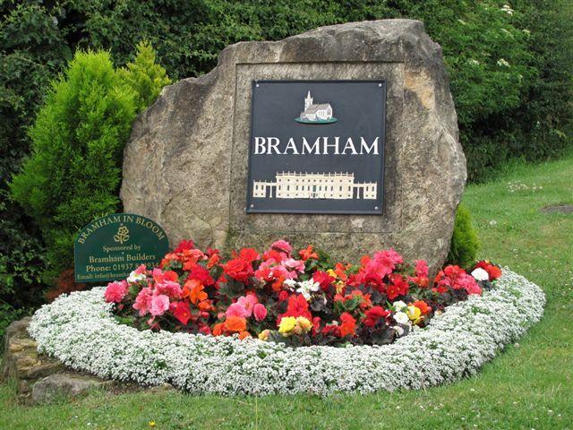 Bramham in Bloom, flowerbeds