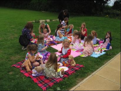 Children's Outdoor Party Summer 2015