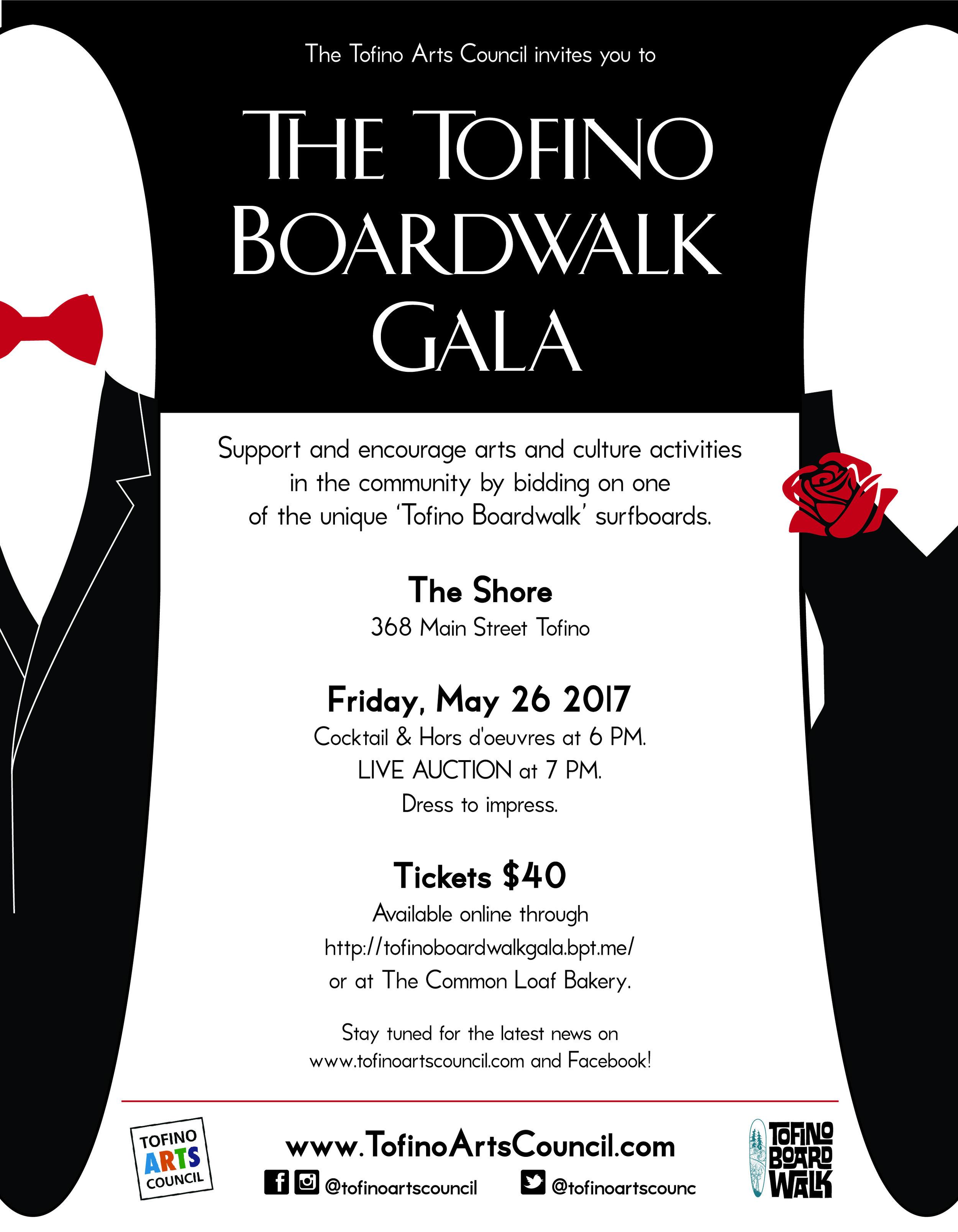 Tofino Boardwalk Gala
