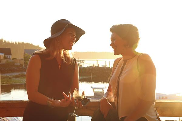 Christy Feaver & Marika Swan Sunset