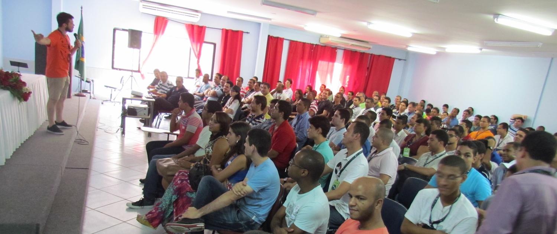 O auditório da UNINASSAU já começou o dia cheio!